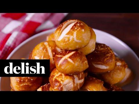Soft Pretzel Bites   Delish