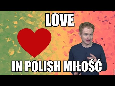 How to say I LOVE YOU in Polish Language