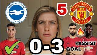 5 Things We Learned vs Brighton. 0-3 Brighton vs Man Utd | GREENWOOD & BRUNO GOALS