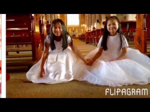 First Communion of Angela