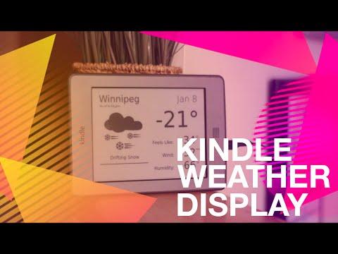 DIY: Kindle Weather Display (w/ Jailbreak)