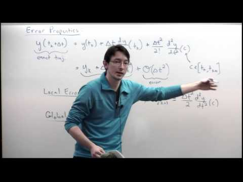 Lecture: Error and Stability of Time-stepping Schemes