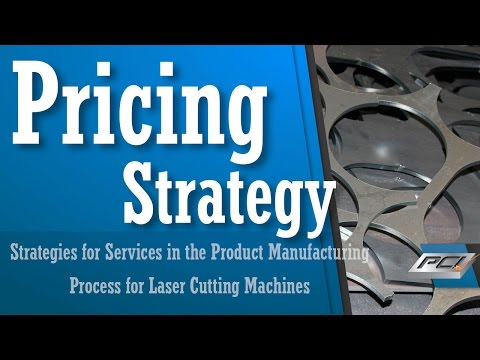 Pricing Strategy -Strategies and Pricing Your Work for Services in the Product Manufacturing Process