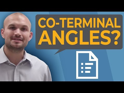 Tutorial - What are coterminal angles?