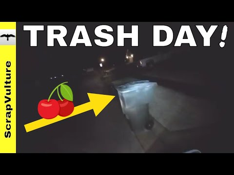 GARBAGE PICKING - NON-STOP ACTION with CHERRY on Top!