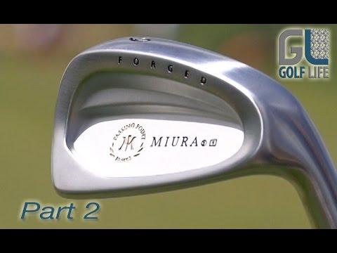 Miura Golf Passing Point 9003 Irons Driving Range Test