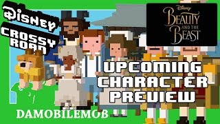 ★ Disney Crossy Road UPCOMING BEAUTY AND THE BEAST Characters (Preview with Fan Models)