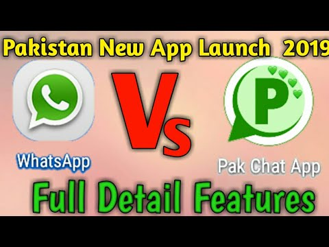 Pak Chat App Full Features  Details