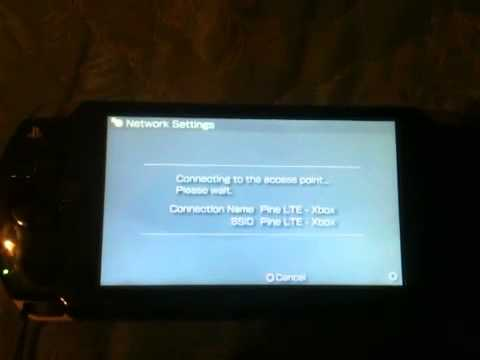 Psp connection timed out