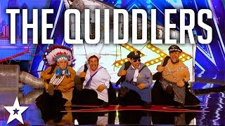 The Quiddlers Dance the YMCA on America