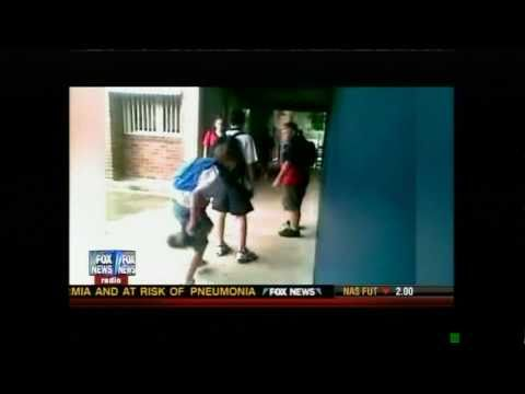 Bully gets body slammed at school by victim. FOX NEWS