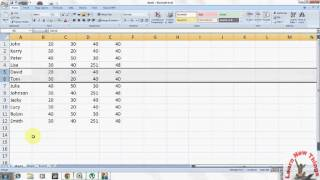 Excel Shortcut Key How To Hide And Unhide Column And Row In Excel