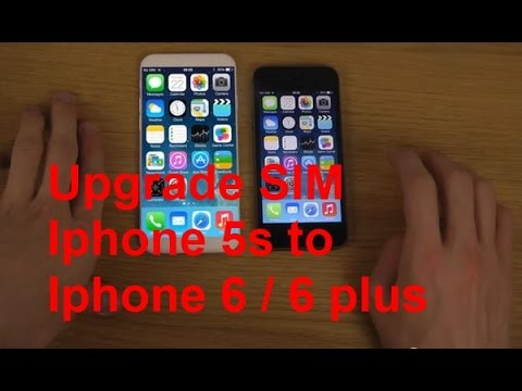 How to transfer SIM / Data from Iphone 5s to Iphone 6 or 6 Plus