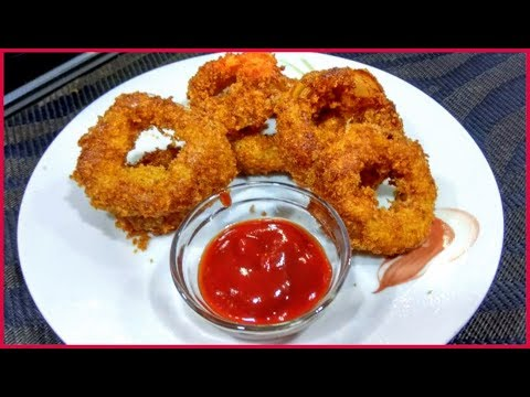 Crispy Onion Rings Recipe | How to make Crispy Onion Rings at home!!