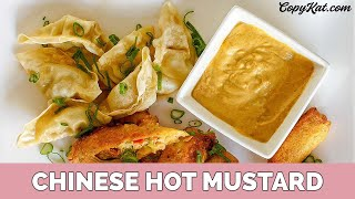 How to make Chinese Hot Mustard