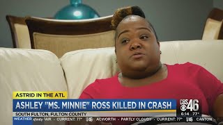 Reality TV star Ashley 'Minnie' Ross dies in Georgia wreck
