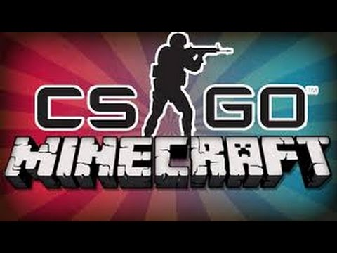 CSGO Player playing Minecraft! (On New Kit PvP Server!)