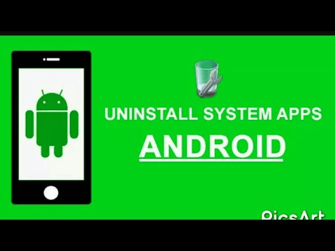 Remove system apps on Android no root