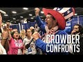 CROWDER CONFRONTS Firebomb Lady Louder With Crowder