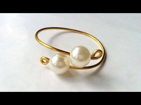 How To Create Wire And Bead Bracelet - DIY Style Tutorial - Guidecentral