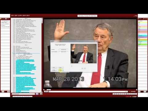 Thomas & Thomas Court Reporters - Benefits of Synchronized Depositions