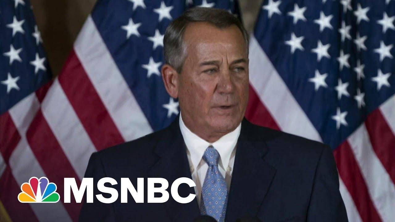 Trump Responsible For 'Bloody Insurrection,' Says John Boehner | Morning Joe | MSNBC