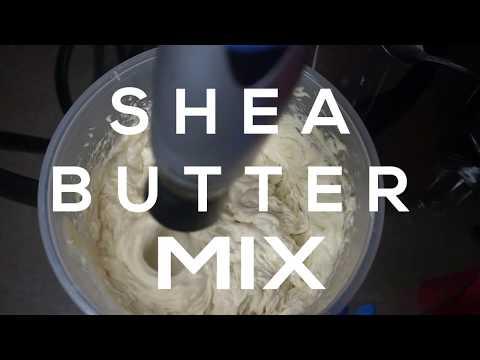 DIY Shea Butter Mix | Hair + Skin | Healthy Hair Growth | Bubs Bee
