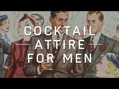 Cocktail Attire for Men - Wedding, Party & Event Dress Code Guide