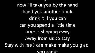 The Wanted - Glad You Came    with lyrics