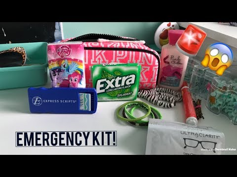 DIY BACK TO SCHOOL EMERGENCY KIT!! || Gracie Bright