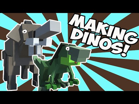Hybrid Animals Dinosaurs! (Let's Play Hybrid Animals Gameplay)