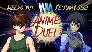 Anime Duel: Heero Yuy vs Setsuna F. Seiei