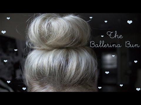 The Ballerina Bun Tutorial w/ NO Hair Donut or Sock