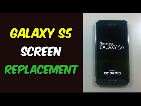 How to Replace Galaxy S5 Screen | Complete Tutorial