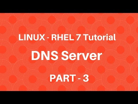 Linux in Hindi - RHEL 7 - DNS Server - Part 3 - Seven Layer Technologies
