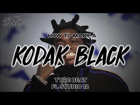 [FL Studio 12 Tutorial] How to make a KODAK BLACK type beat