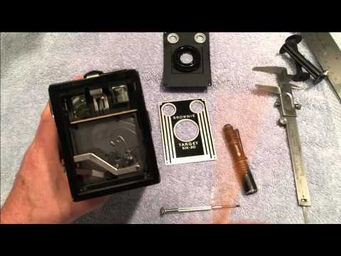 Fix the viewfinders on a Kodak Brownie box camera