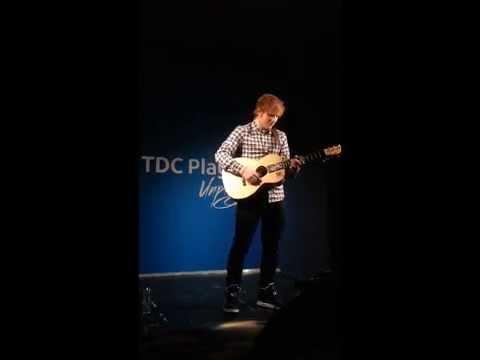 Ed Sheeran private concert Denmark 2014