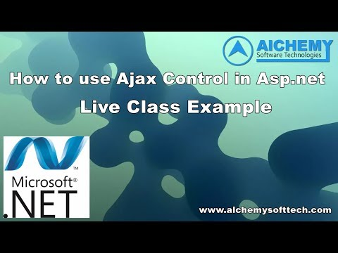 HOW TO USE AJAX CONTROL IN ASP.NET C# | code to use Ajax control in asp.net c#