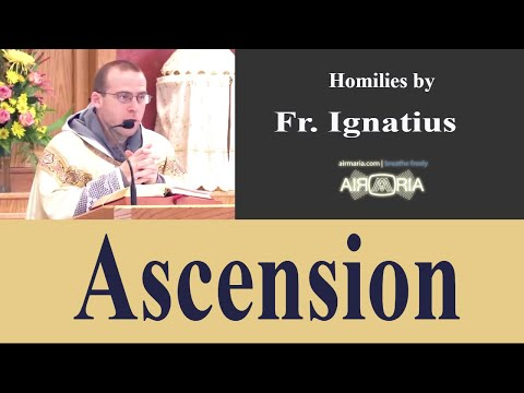 Ascension - May 13 - Homily - Fr Ignatius