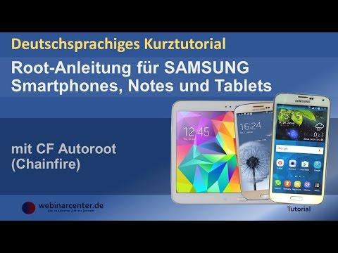 Tutorial: Samsung-Galaxy-Geräte mit