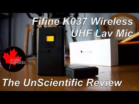 Fifine K037 Wireless UHF Lav Mic - Worth the $45?