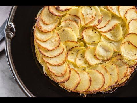 Giant Straw Potato Galette | EASY TO LEARN | QUICK RECIPES