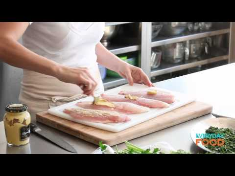 Herb-Crusted Snapper with Couscous | Everyday Food with Sarah Carey