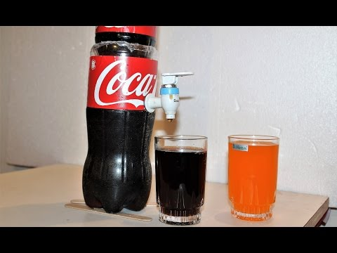DIY- How to Make Soda Fountain Machine At Home -  Without Battery/Motor