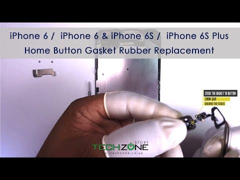 iPhone 6 / 6s Home Button and Rubber Gasket Replacement