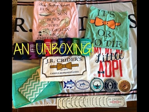 An Unboxing: J.R. Crider's, Southern Tide, Amazon