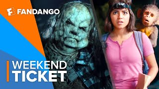 In Theaters Now: Scary Stories, Dora, Art of Racing in the Rain | Weekend Ticket