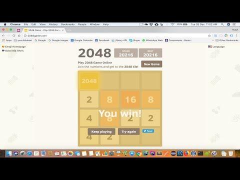 2048 Game - Finally Solved - Yusuf Shakeel
