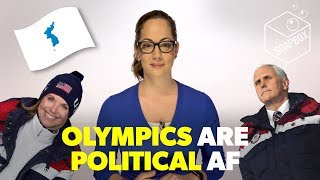 The Olympics are political AF